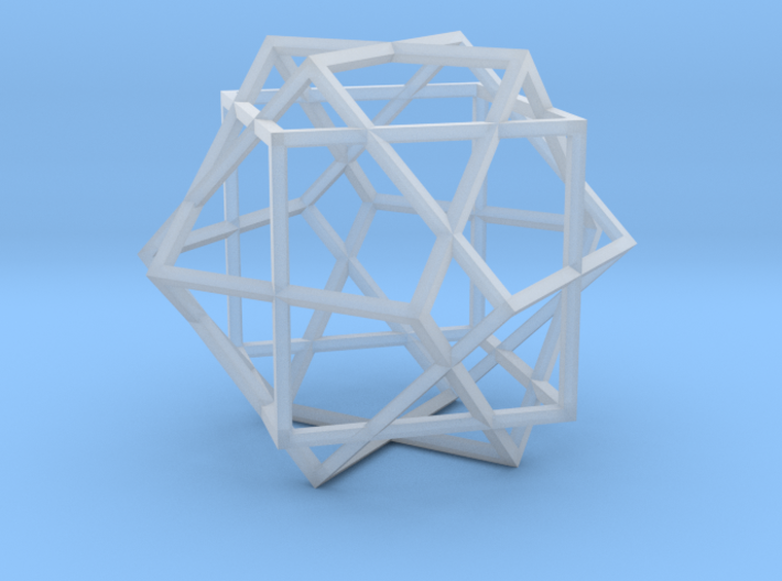 3 Cube Compound 3d printed