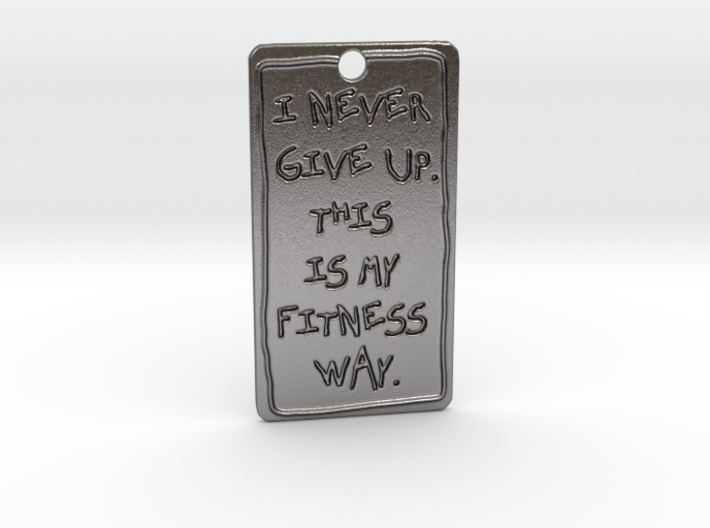 my fitness way 3d printed