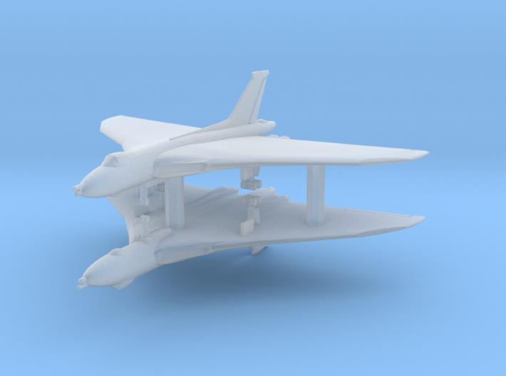 1/700 Vulcan with Gear x2 (FUD) 3d printed