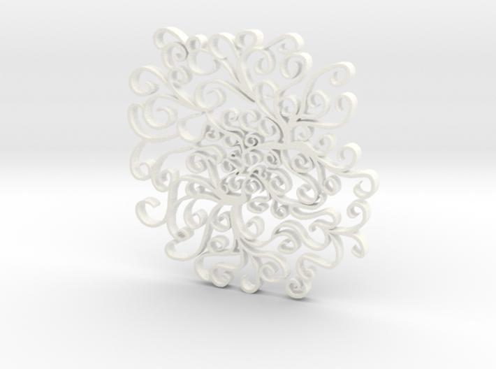 Peaceful Curvature 3d printed