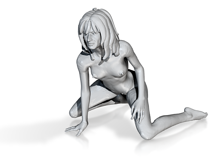 1:32 scale Nude Knealing 3d printed