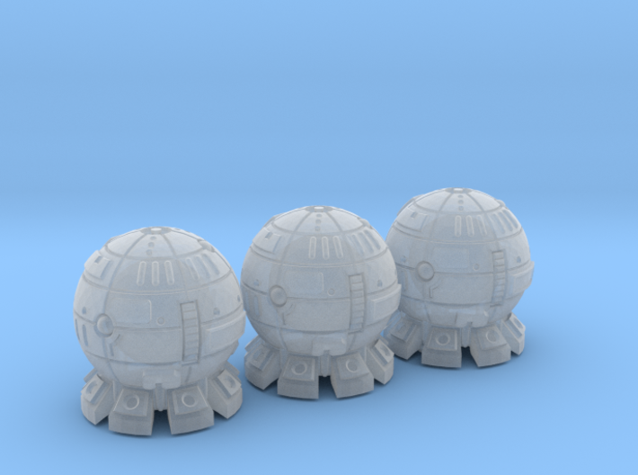 Terran (TFN) Destroyer Datagroup 3d printed