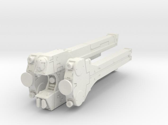 LoGH Imperial Walkure 1:300 3d printed