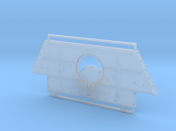 T-34 Armor Plate from Factory 183 Late Type 1/35 3d printed