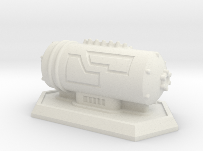Small Storage Tank 3d printed
