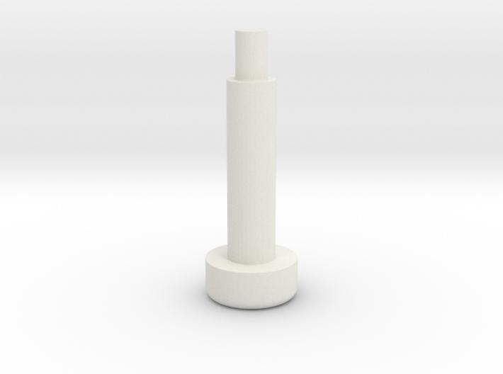 Bally Rolover Button 3d printed