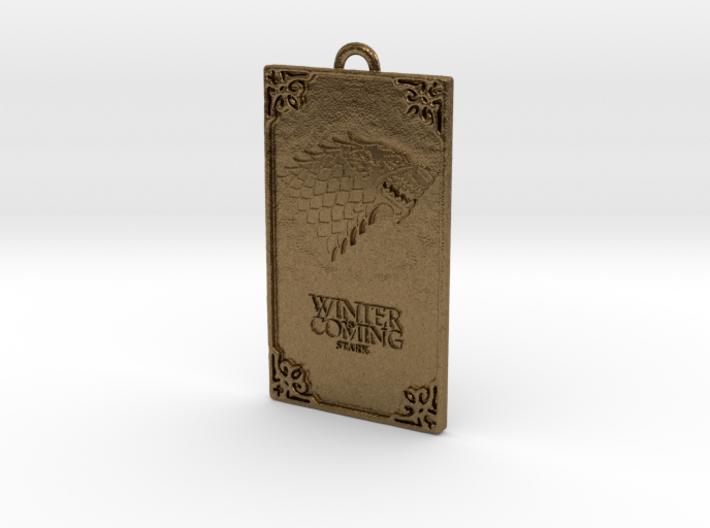 Game of Thrones - Stark Pendant 3d printed