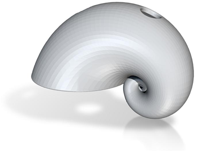 Golden Spiral Pendant 3d printed