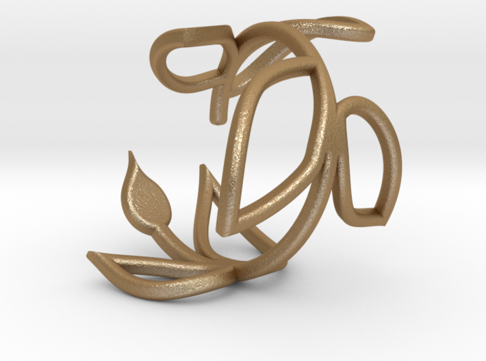 Vine Ring size 7.5 3d printed