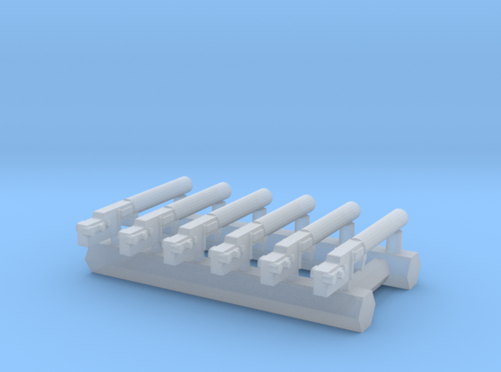 1/144 Spandau LMG 08/15 (6pk) 3d printed