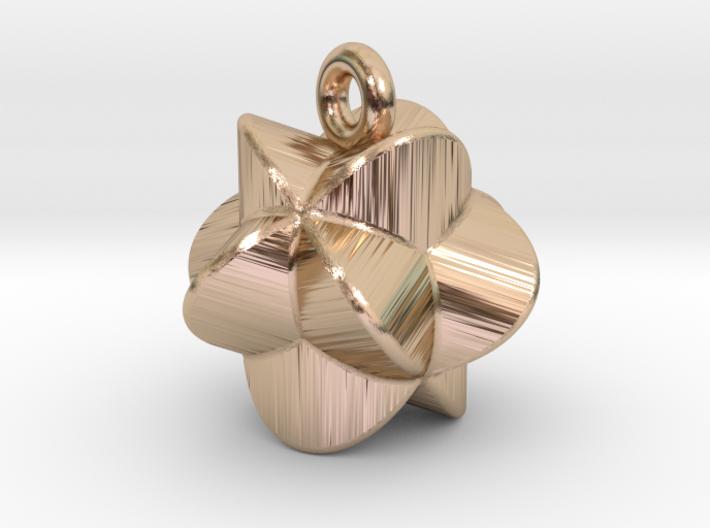 Earring-c-4-3-10-45 3d printed