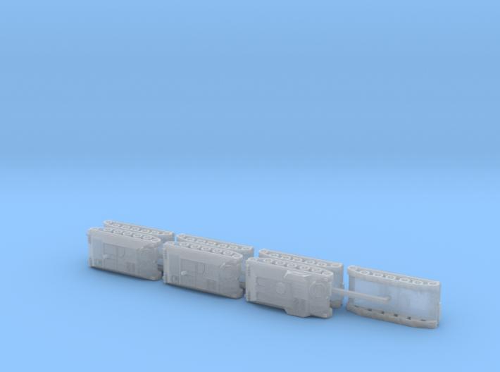Schützenpanzer HS-30 Mortar Carrier 1/285 6mm 3d printed