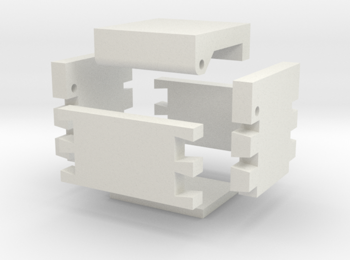 Dove Tail Jewelry Box 3d printed