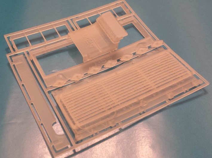 T-54 Mod.1949 engine deck and update parts for Tam 3d printed