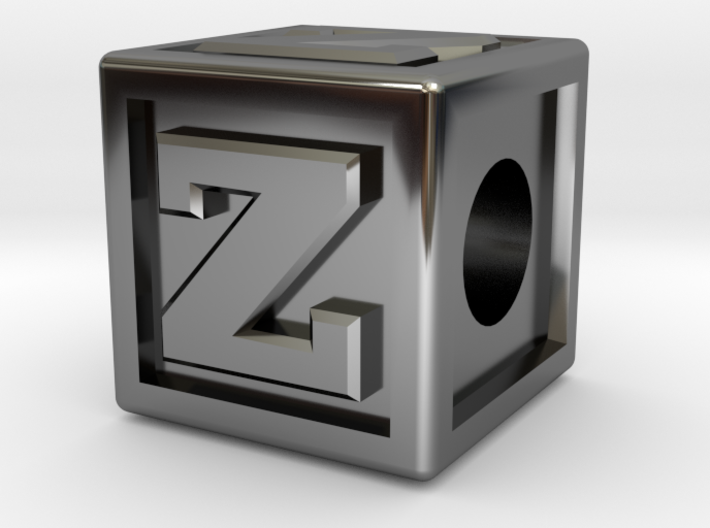 "Name Pieces; Letter ""Z"" 3d printed"