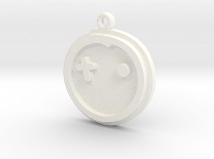 Crossight Overclothes Keychain 3d printed