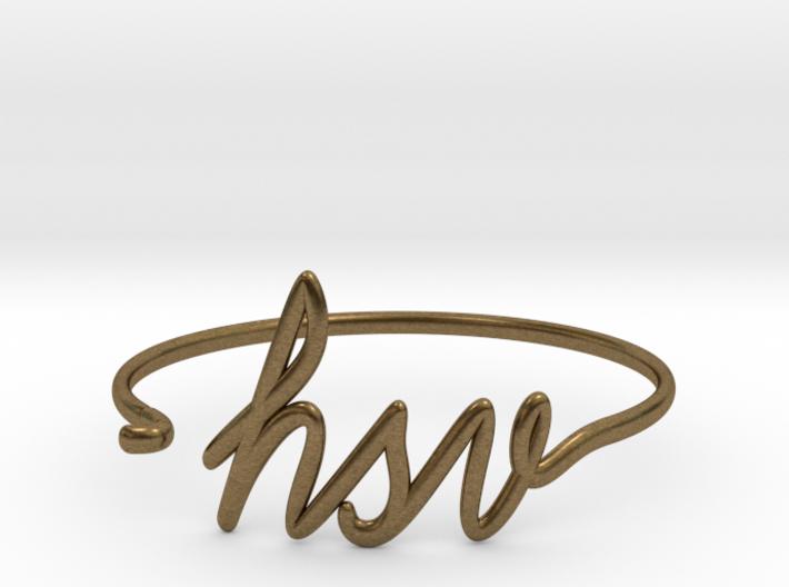 HSV Wire Bracelet (Huntsvegas) 3d printed