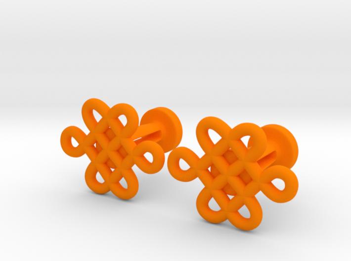 Celtic Cufflinks 3d printed