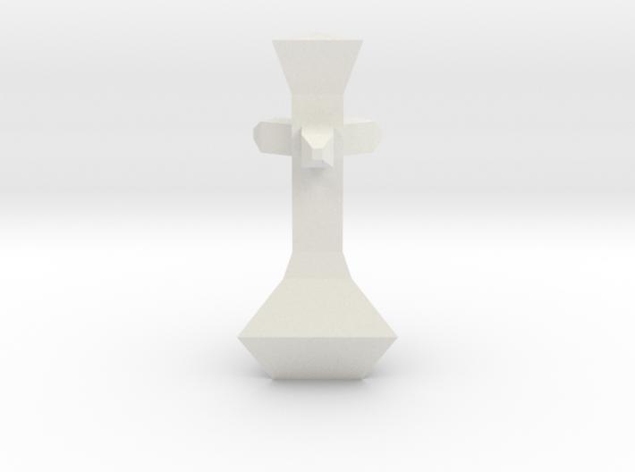 Chess Pawn King 3d printed