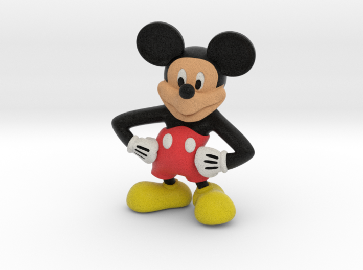 Mickey 3d printed