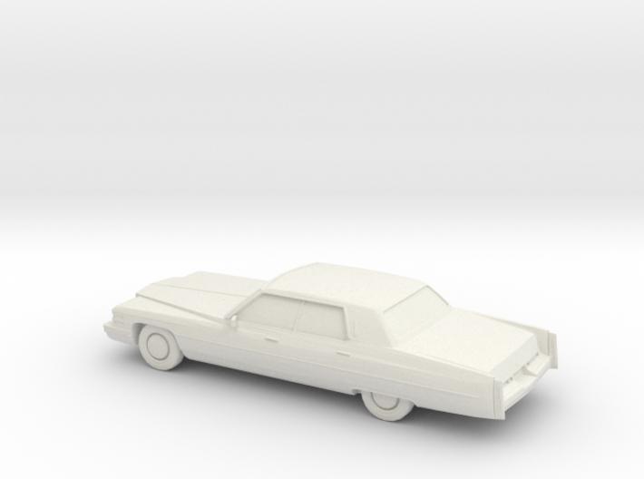 1/87 1974 Cadillac Sedan De Ville 3d printed