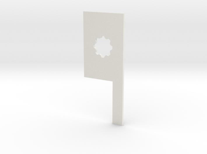 Warmachine measuring widget 3d printed