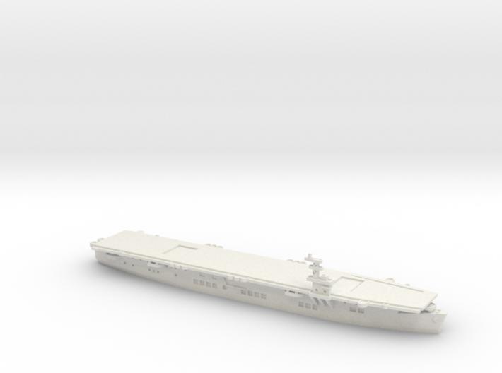 USS Chenango 1/1800 3d printed
