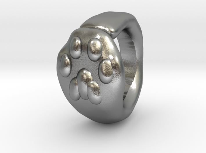 Cat Paw Ring - sc1 (19mm) 3d printed