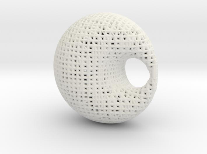 DuplinCyclides math art 3d printed