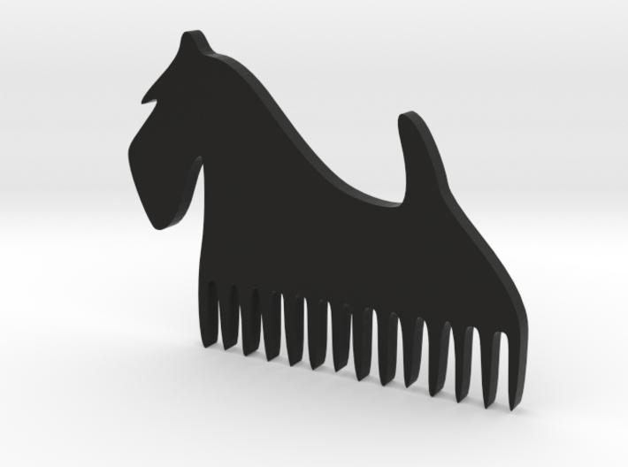 """Comb """"Terier"""" 3d printed"""