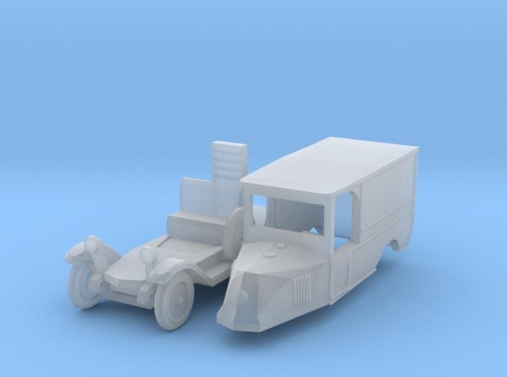 Renault OS Fourgon de livraison (N 1:160 3d printed