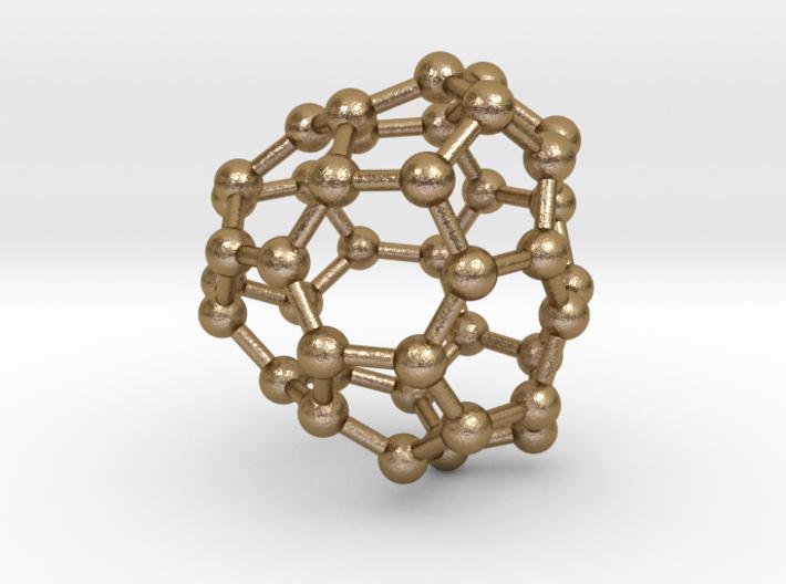 0125 Fullerene C40-19 c2 3d printed