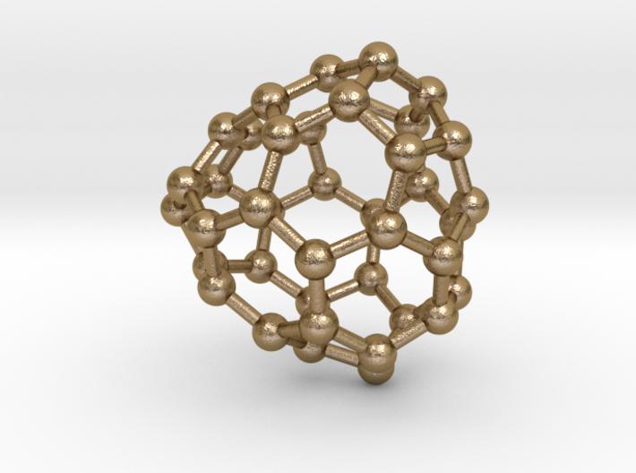 0124 Fullerene C40-18 c2 3d printed