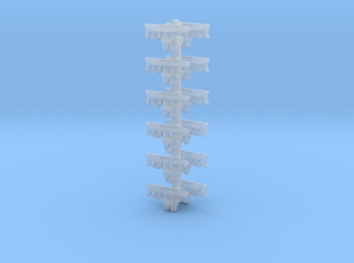 """Sculptor's Pack"" 15mm XM2 Flamers (12pcs) 3d printed"