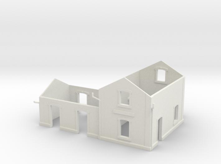 Po Corezze - Walls - Nm - 1:160 3d printed