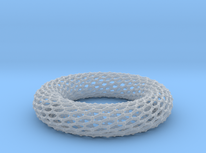Border Object - Twisted Torus 0 1 3d printed