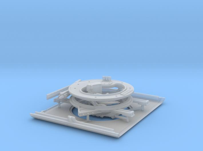 1/35 SPM-35-015 HMMWV roof 3d printed