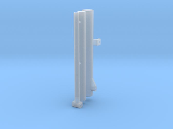 Dump cylinder for super 18 dump body 3d printed