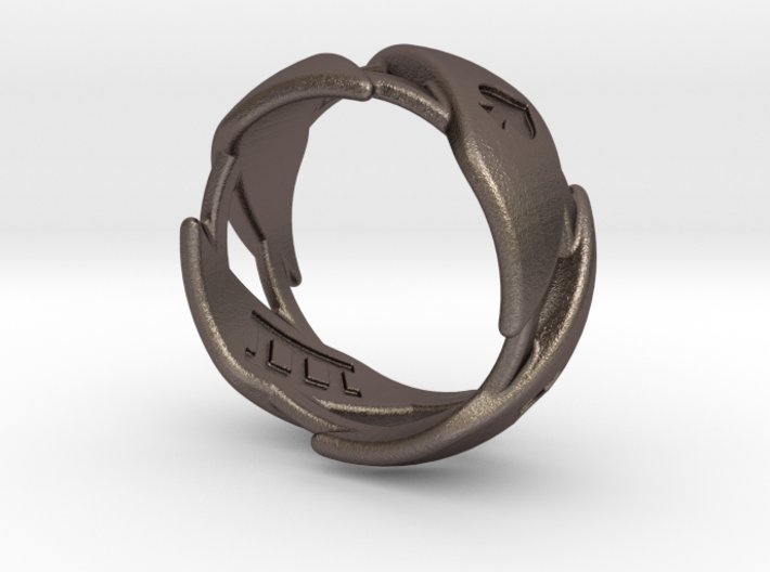 US11 Ring XXXI (Stainless Steel) 3d printed
