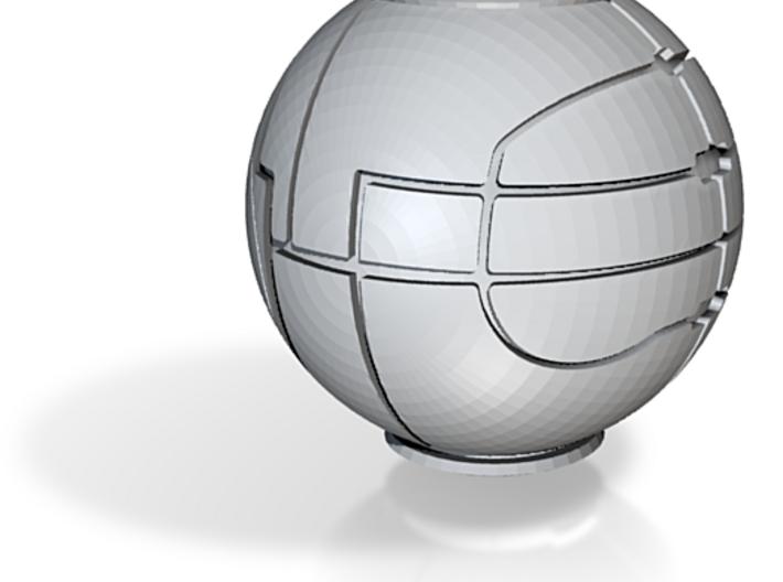 Apple Replica Prop (Small) 3d printed