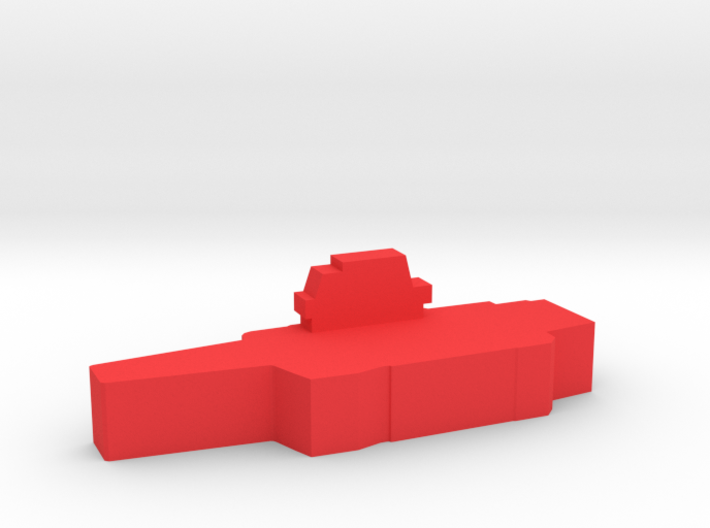 Game Piece, Red Force Kuznetsov Carrier 3d printed