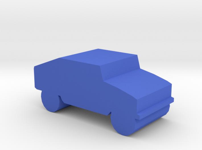 Game Piece, Blue Force Humvee 3d printed