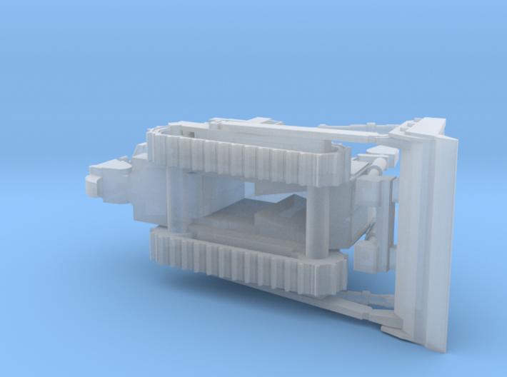 Armored Dozer Doobi 1/144 Scale 3d printed