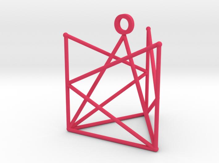 Tri-pendant 3d printed