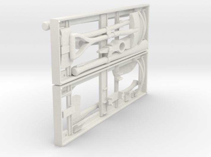 1-16 US Pioneer Tool Rack 3d printed