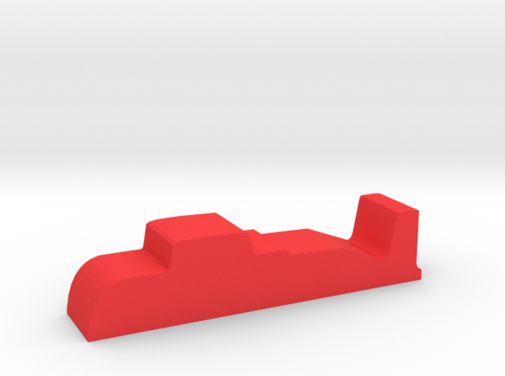 Game Piece, Red Force Missile Sub 3d printed