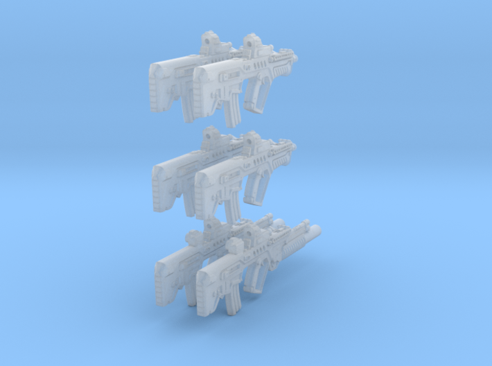 1-16 Tar21Tavor 6SET 3d printed