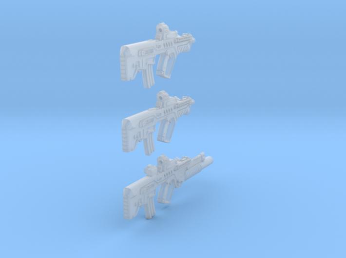 1-16 Tar21Tavor 3SET 3d printed