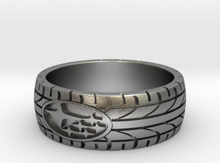 SUBARU ring size 20 mm (US 10) 3d printed