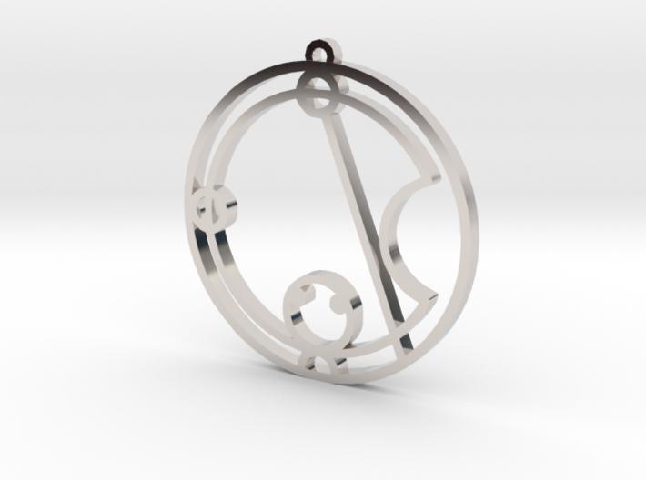 Katie / Catie - Necklace 3d printed
